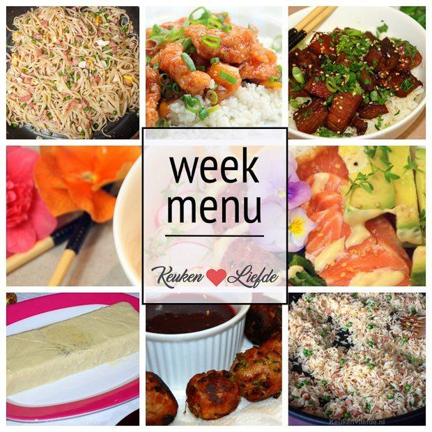 Weekmenu #3 - Ode aan de Aziatische keuken