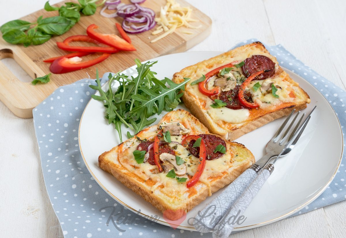 Brood pizza