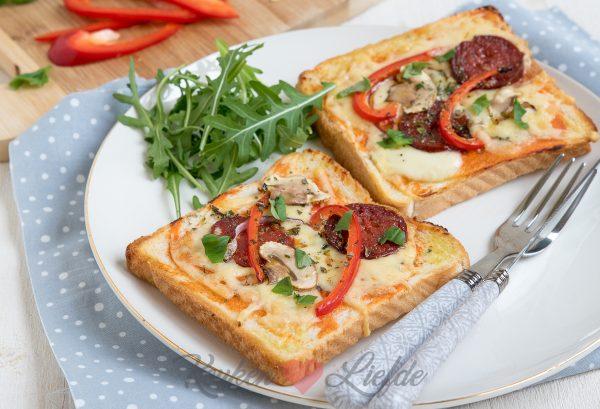 Brood pizza
