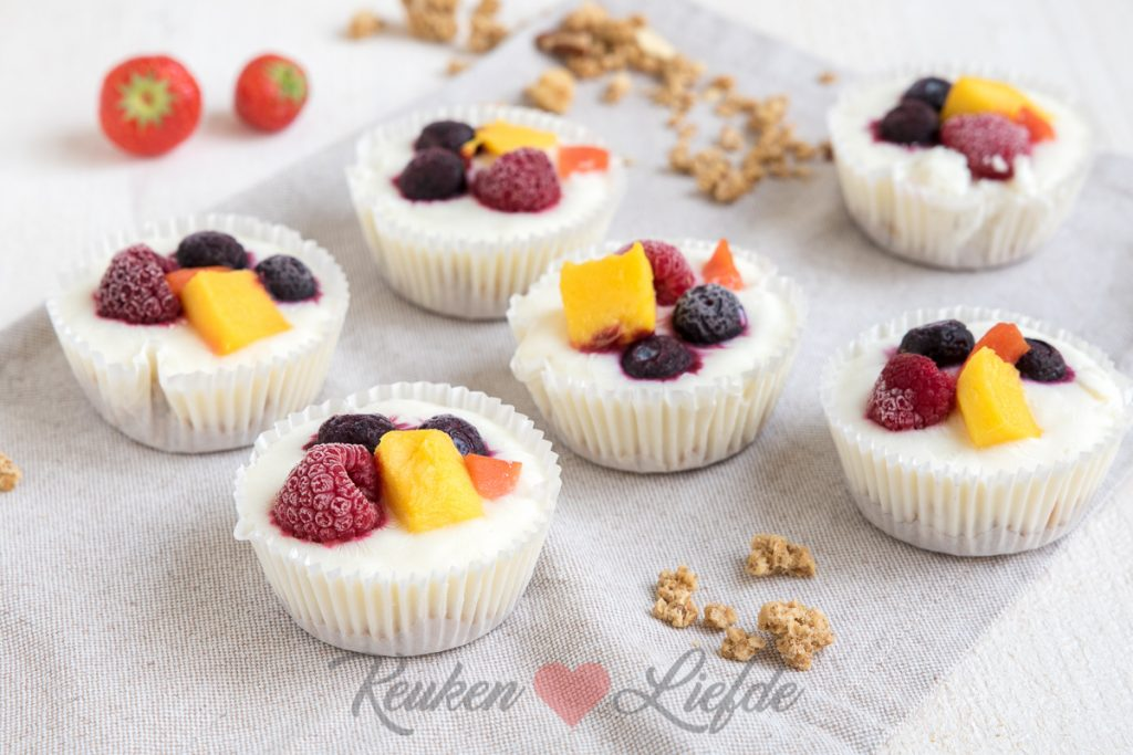 Frozen yoghurt ontbijttaartjes (video)
