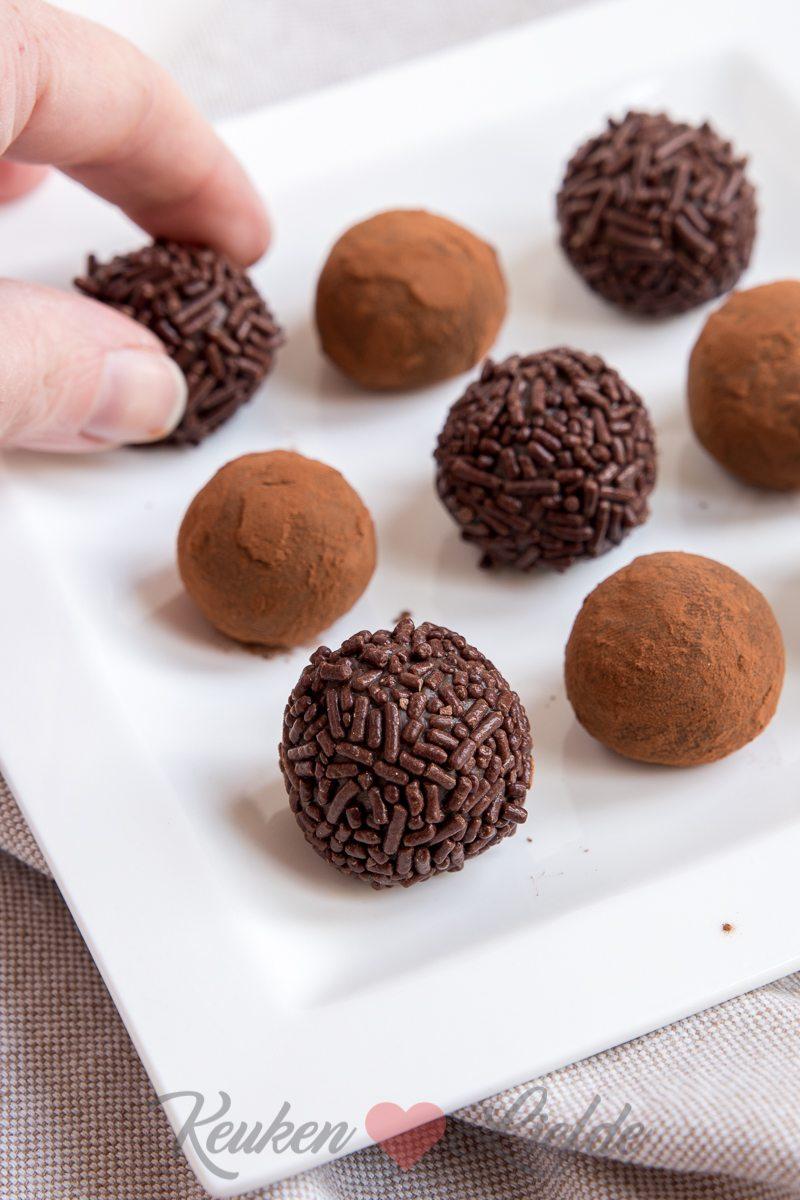 Melkchocoladetruffels
