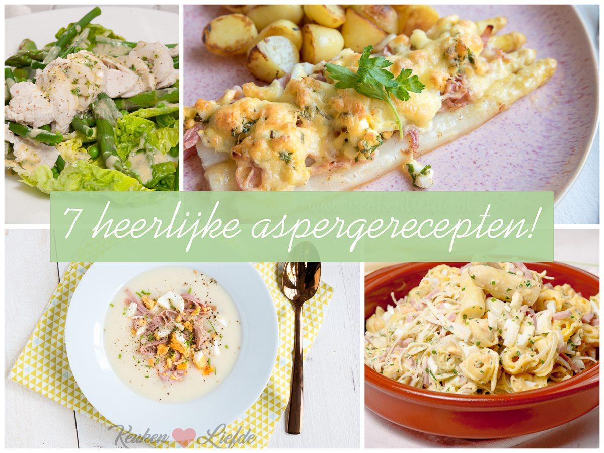 7x heerlijk aspergerecept