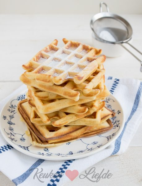 Basisrecept zoete wafels (kookvideo)
