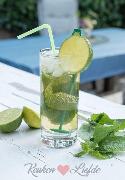 Lipton ice tea mojito