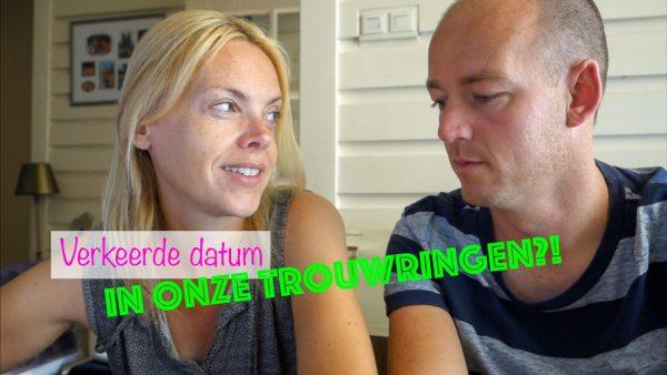 De verkeerde datum in onze trouwringen?! - weekvlog #27
