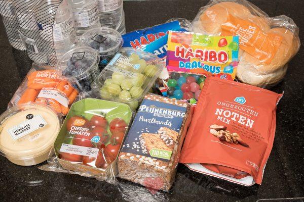 Gezonde snacks voor een lange autorit