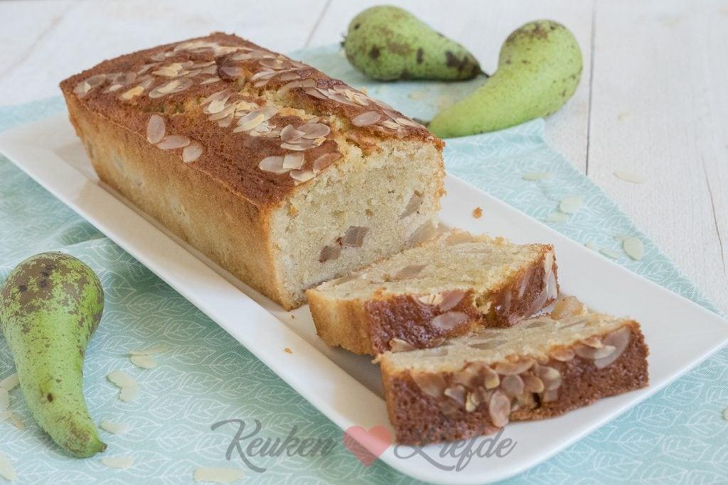 Perencake met koek- en speculaaskruiden
