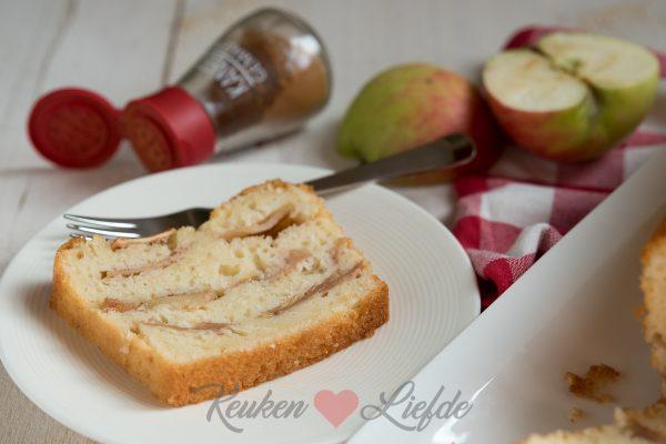 Yoghurtcake met appel