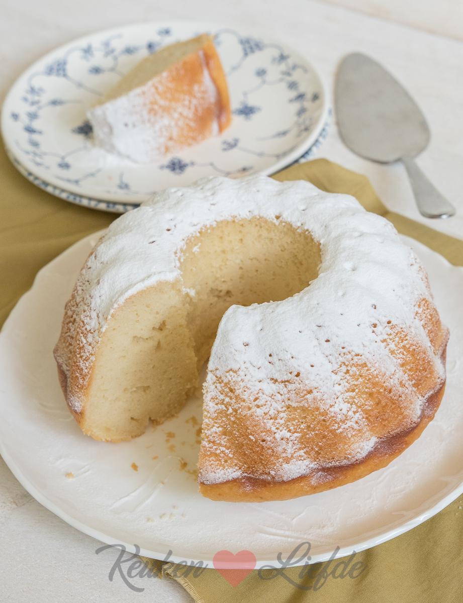 Yoghurtcake met een vleugje citroen