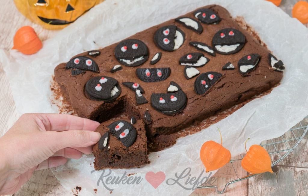 Koekiemonster Oreo brownie