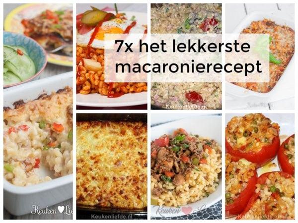 7x het lekkerste macaronirecept