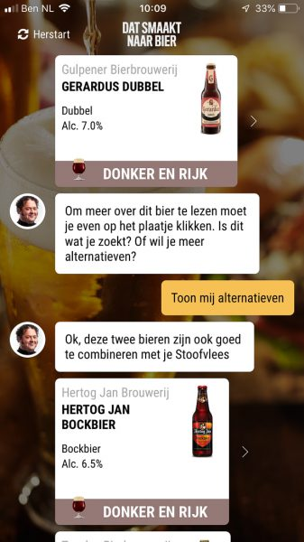 Stoofvlees in biersaus (uit de slowcooker)