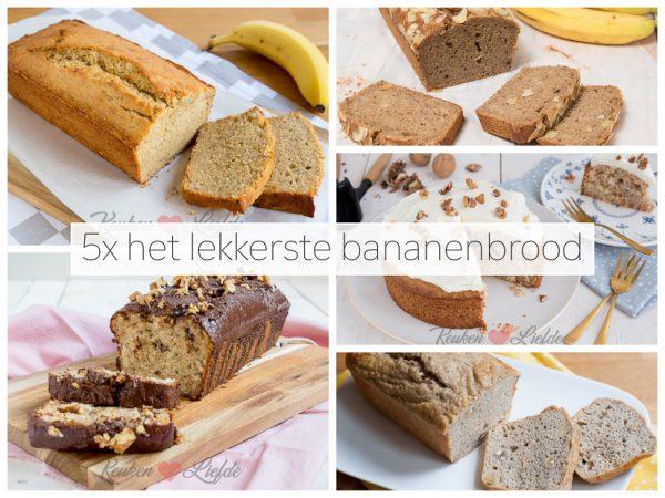 5x het lekkerste bananenbrood