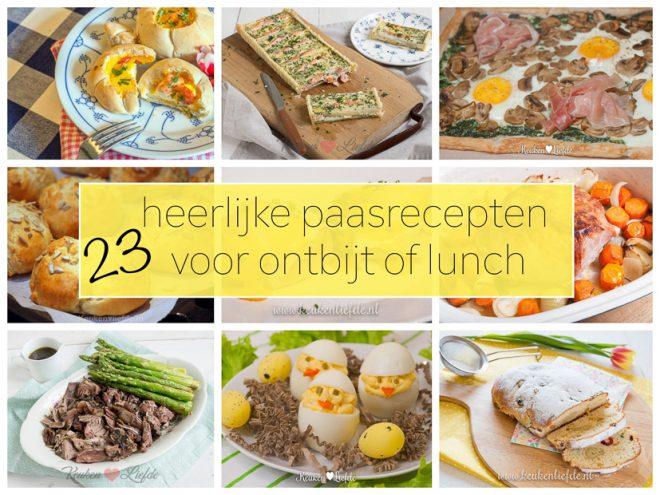 23 heerlijke paasrecepten voor ontbijt of lunch