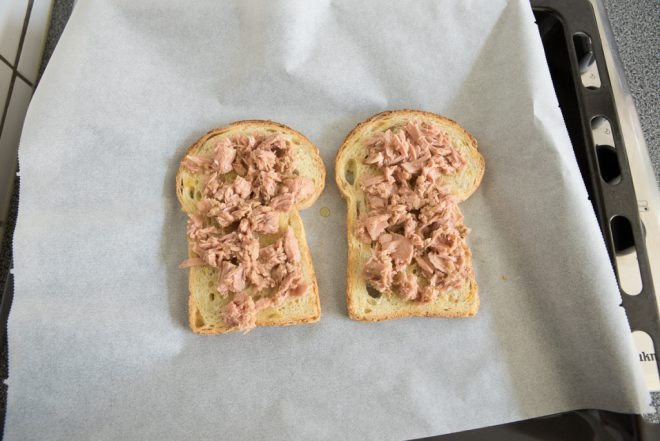 Broodje tuna melt