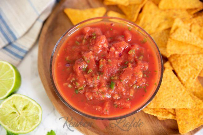 Tomaten salsa saus
