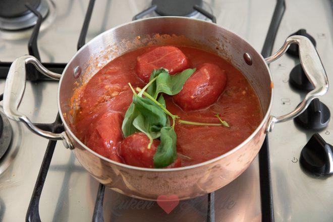 Tomatensaus (voor pizza)