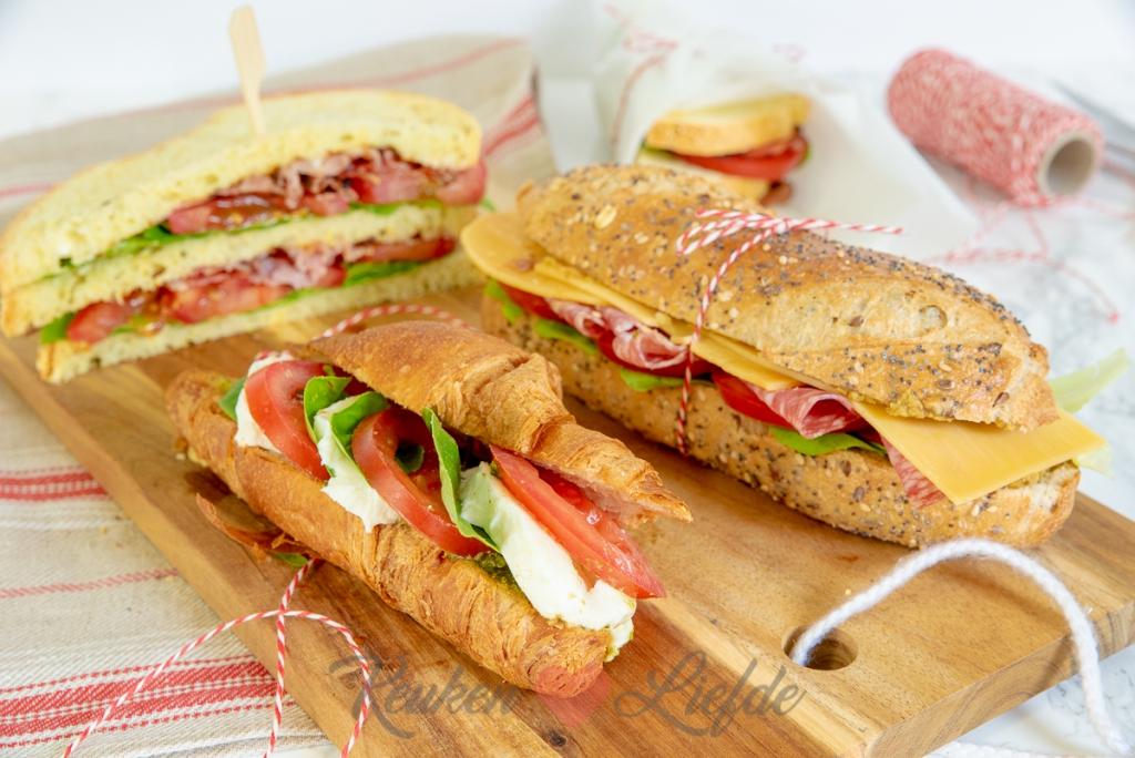 3x heerlijk sandwich recept