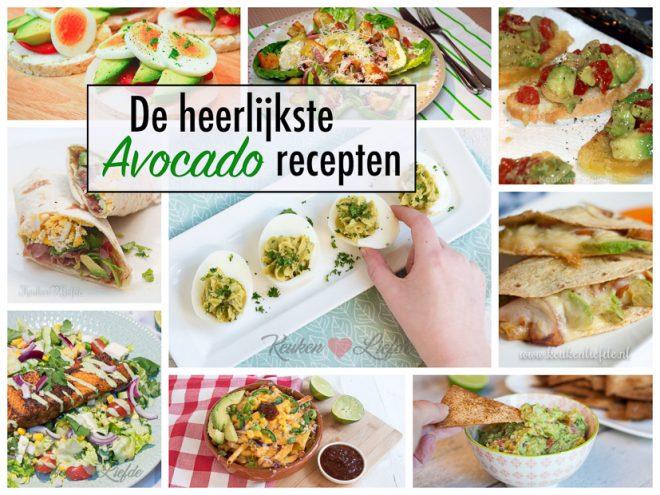 De heerlijkste avocado recepten