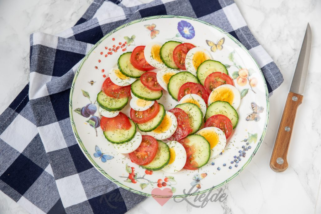 Hollandse caprese