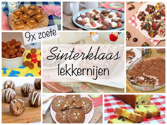 9x zoete Sinterklaas lekkernijen