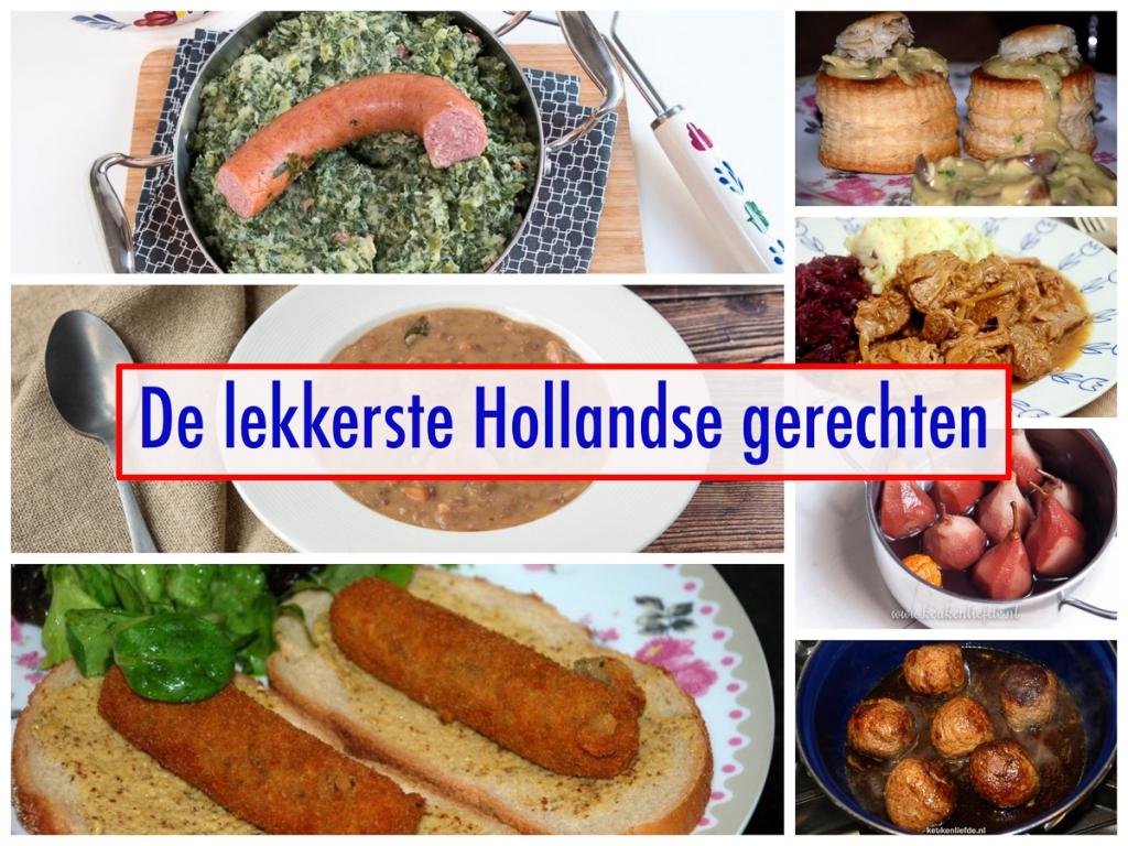 De lekkerste Hollandse gerechten