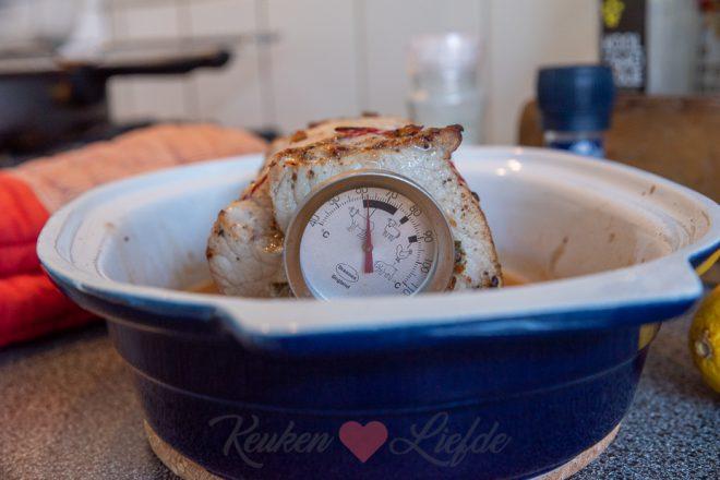 Gevulde rollade uit de oven