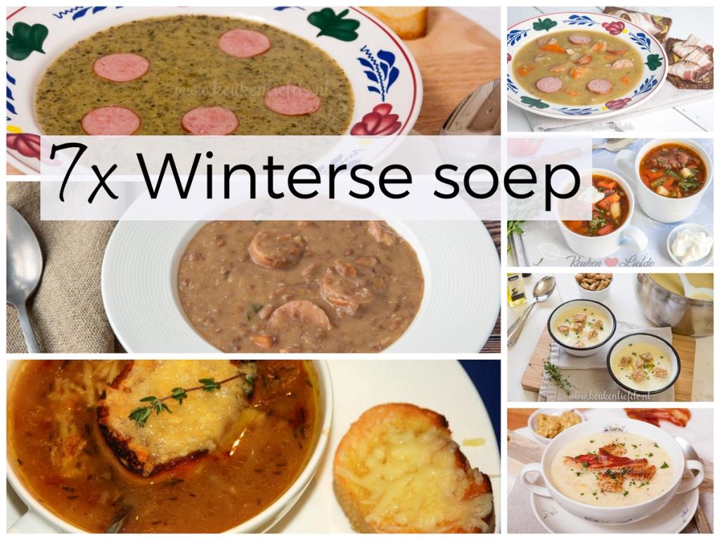 7x winterse soep