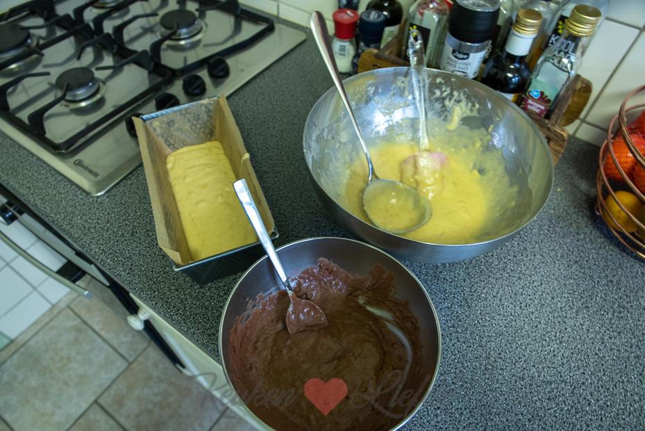 Gemarmerd bananenbrood