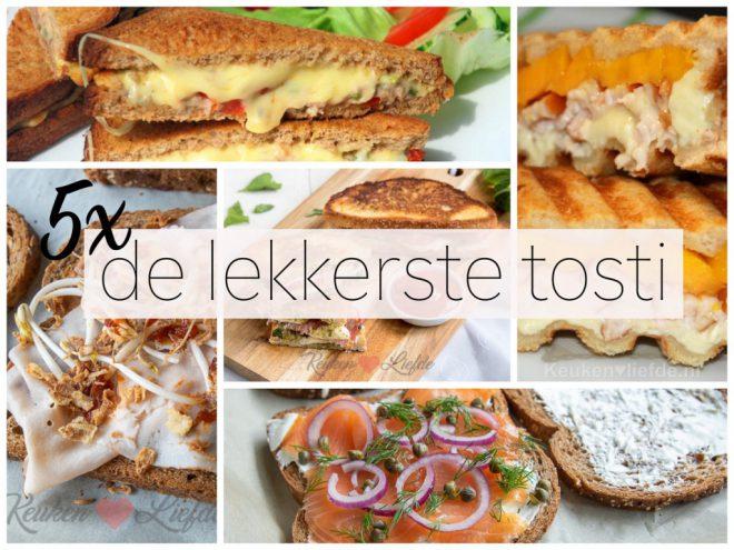 5x de lekkerste tosti