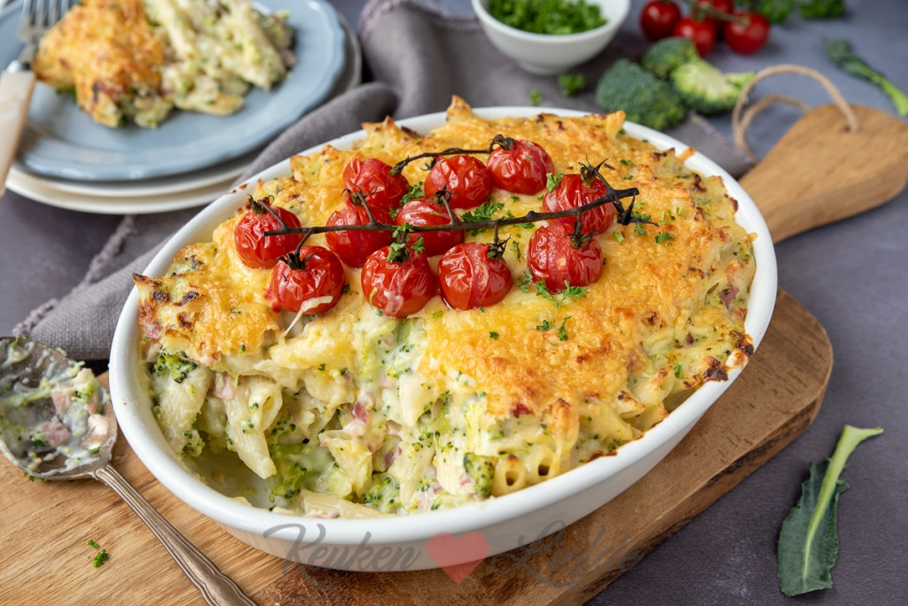 Mac 'n cheese met broccoli