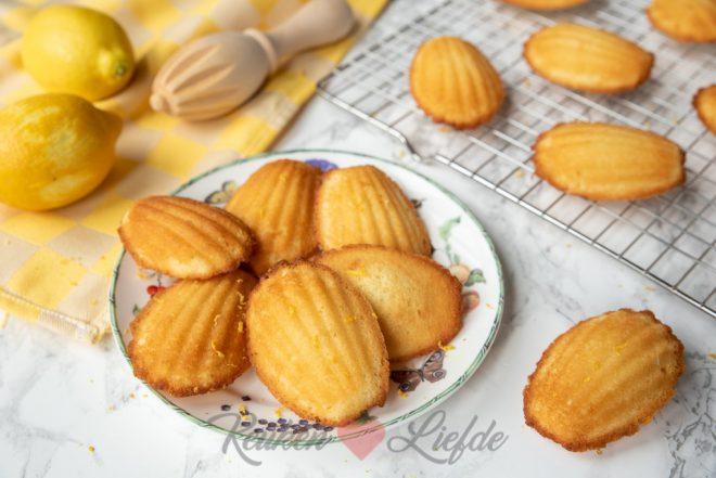 Citroen madeleines
