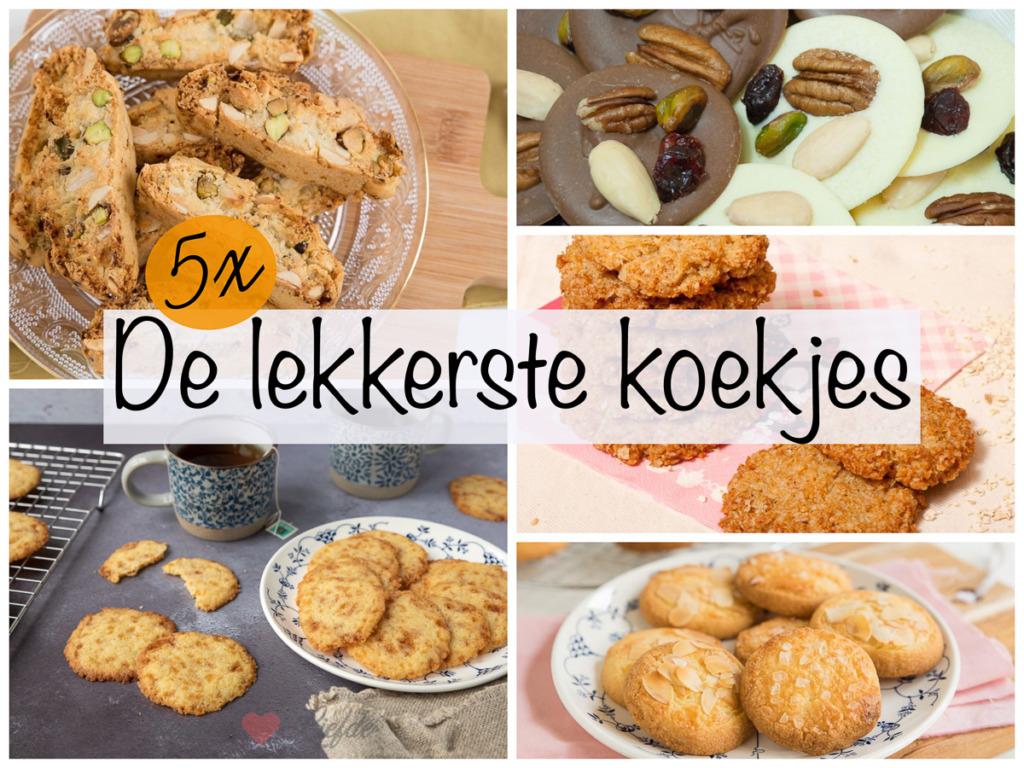 5x de lekkerste koekjes