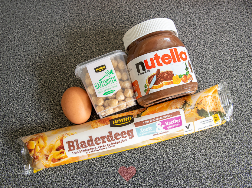 Nutella hazelnoot twisters