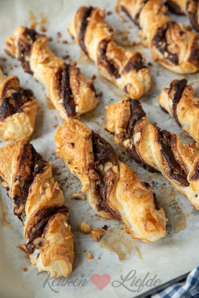 Nutella hazelnoot twisters