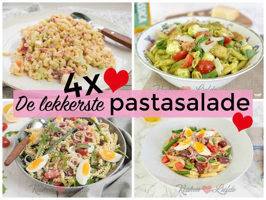 4x de lekkerste pastasalade