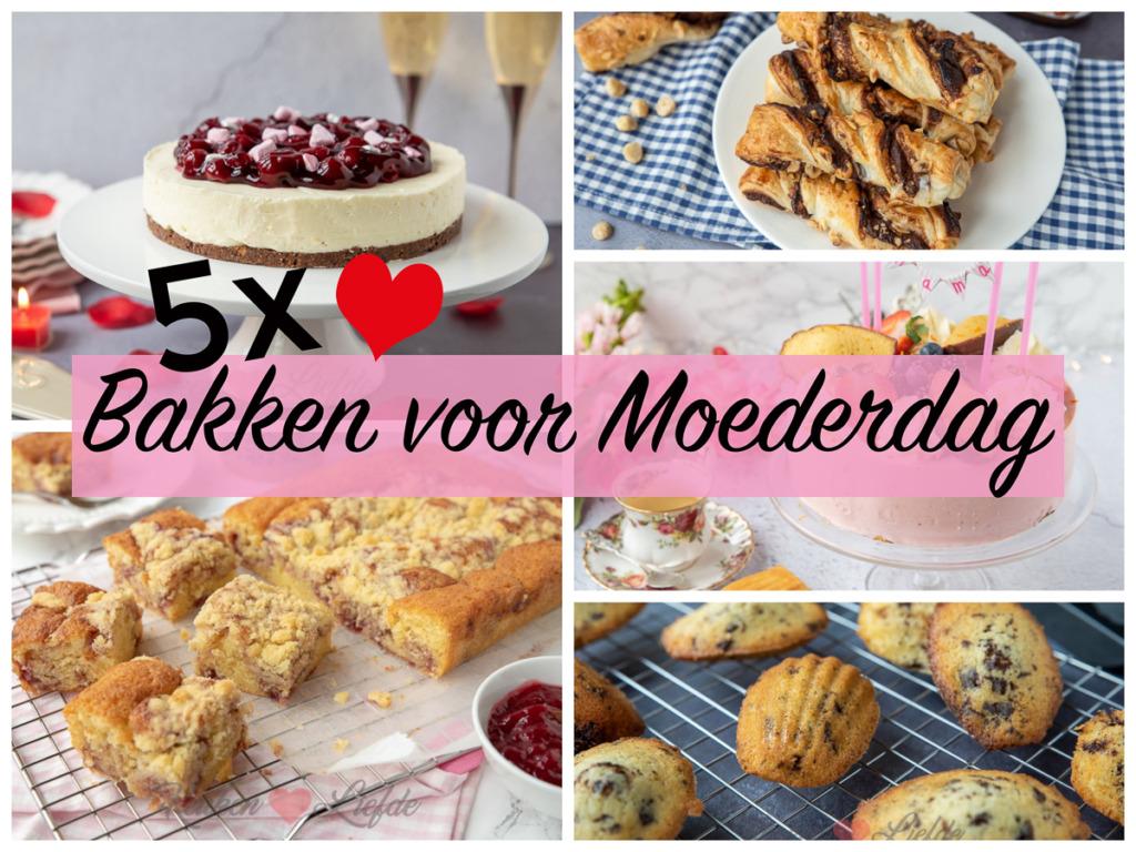 5x bakken voor Moederdag