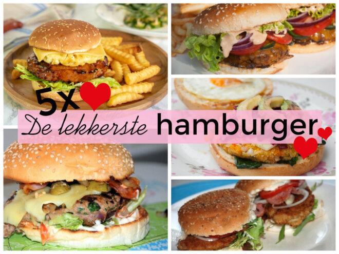 5x de lekkerste hamburger