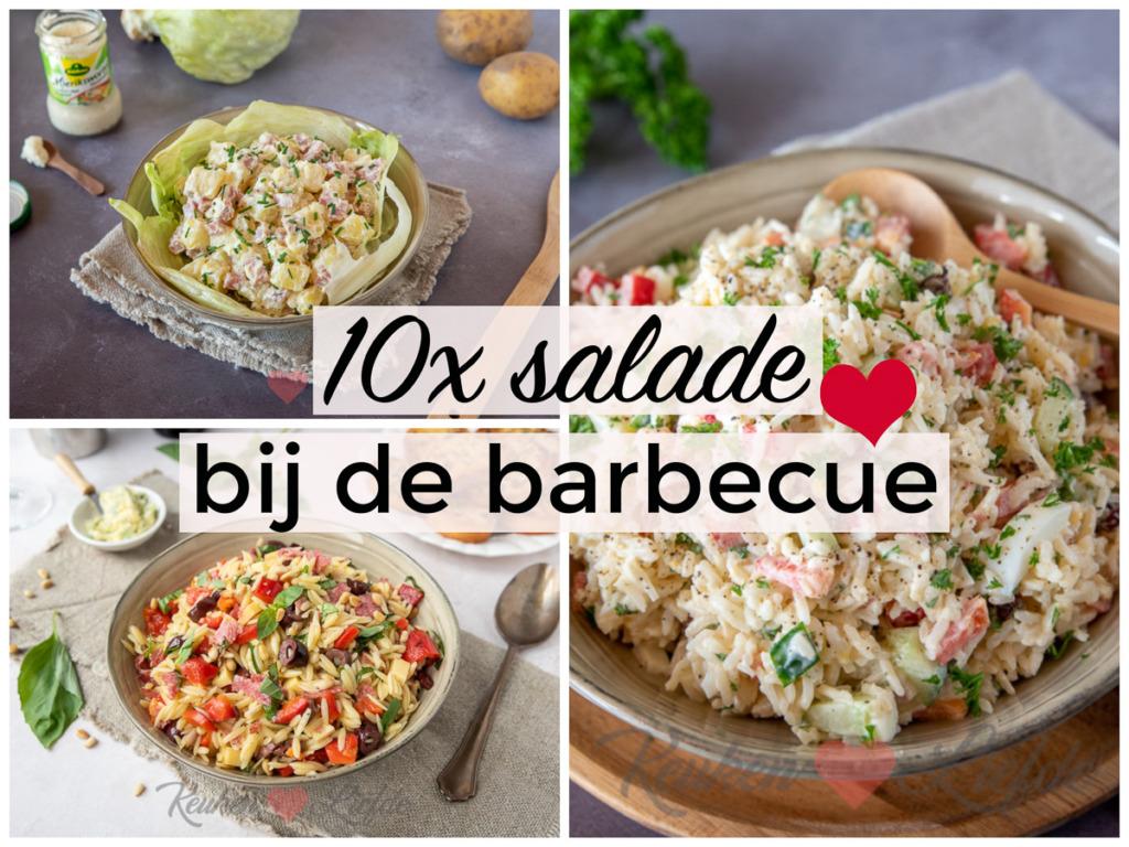 10x salade voor bij de barbecue