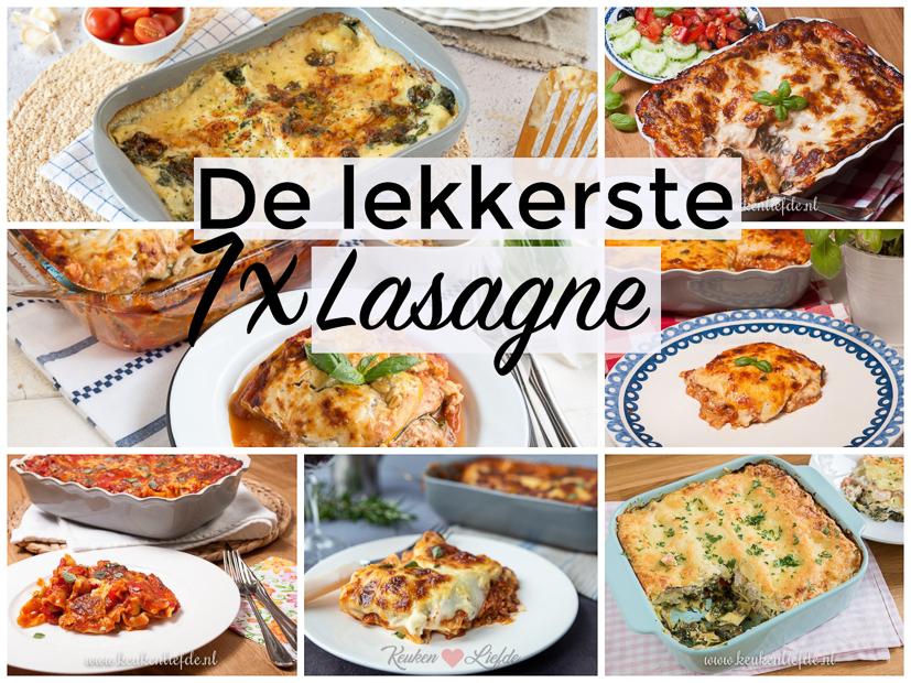 7x de lekkerste lasagne