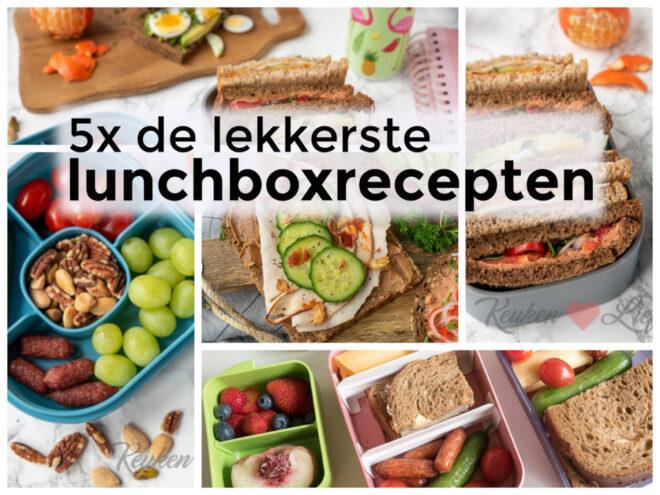5x de lekkerste lunchboxrecepten