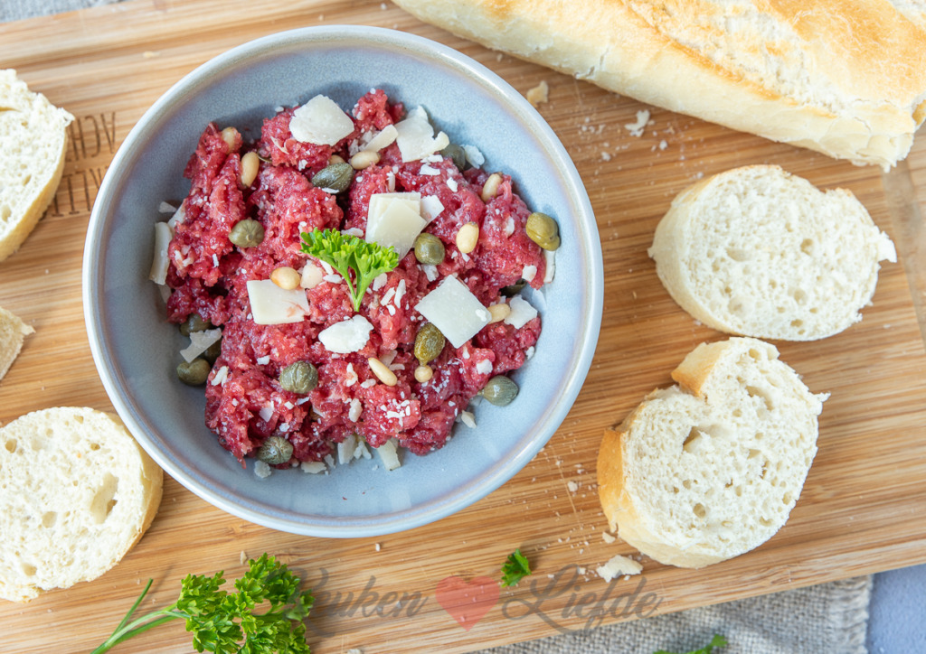 Carpaccio tapenade
