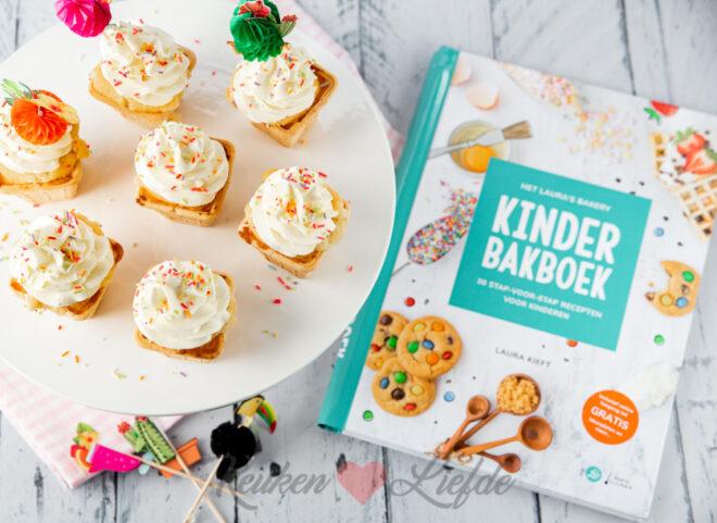 IJsjes cupcakes (uit het 'Kinderbakboek')