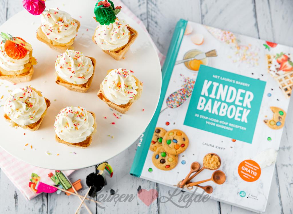 IJsjes cupcakes (uit het'Kinderbakboek')