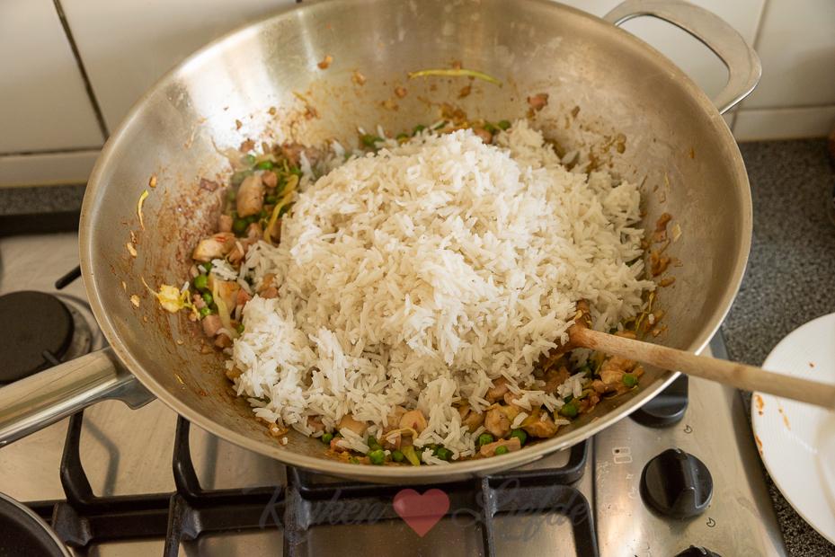 Nasi met kip