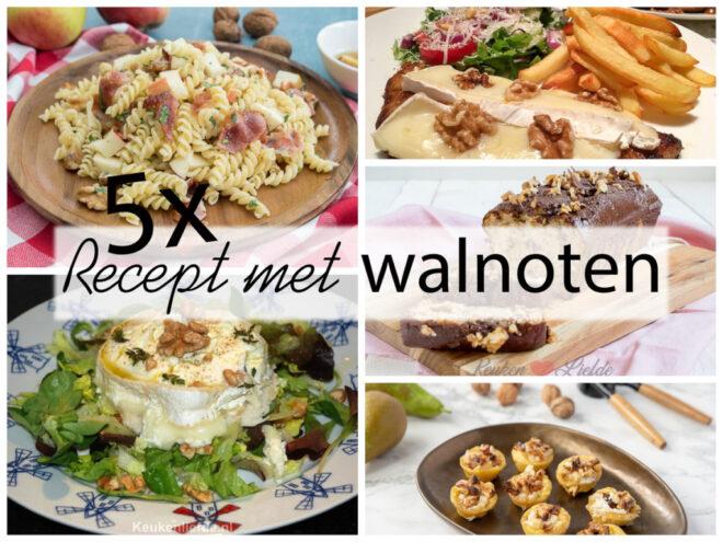 5x recept met walnoot