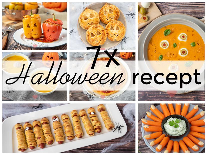 7x Halloween recept