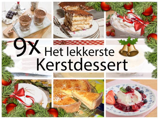 9x het lekkerste kerstdessert