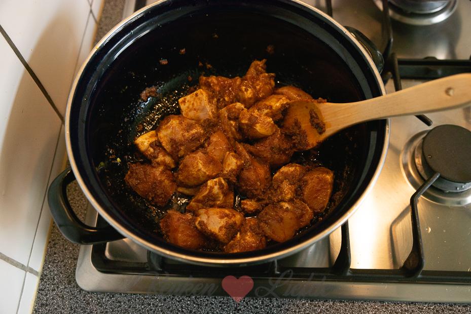 Kerstkliekjes curry