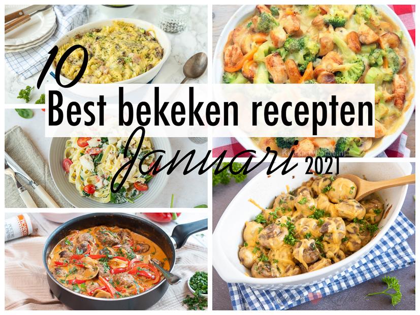 10 best bekeken recepten van januari